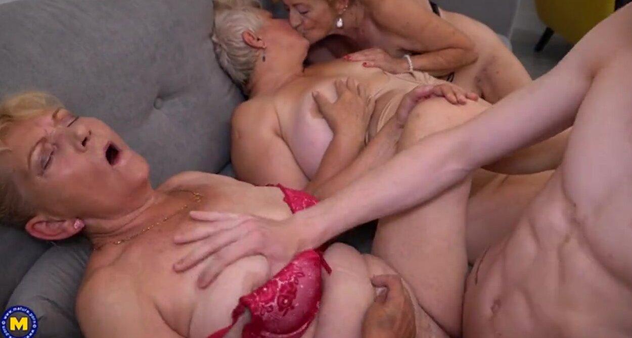 Порно Милых Бабушек